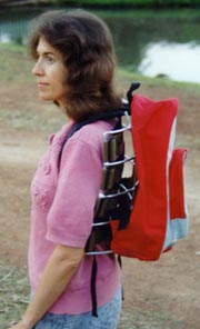 bush walking back pack frame